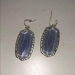 Kendra Scott Jewelry - Light purple & gold Danielle Kendra Scott earrings